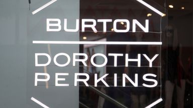 File photo dated 29/05/18 of a branch of Burton Dorothy Perkins on Oxford Street, central London.