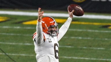 Majestic Mayfield leads Browns to win