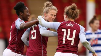 Aluko hopes Villa avoid WSL relegation