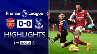 Arsenal, Palace play out stalemate