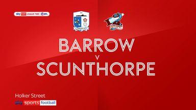 Barrow 1-0 Scunthorpe