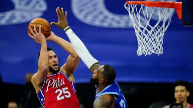 Simmons posts triple-double over Lakers