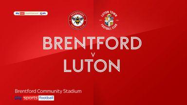 Brentford 1-0 Luton