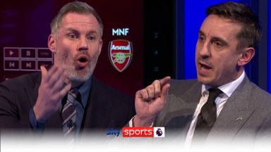 Carra & Nev clash over United's Anfield display