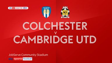 Colchester 1-1 Cambridge