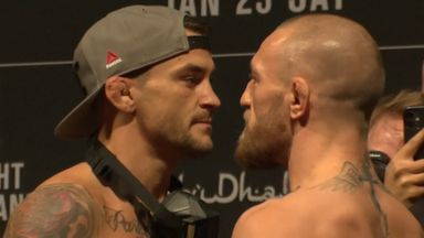 Repeat or revenge? McGregor, Poirier face off