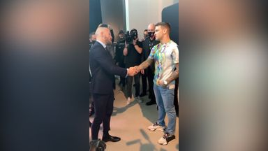 Respect shown between McGregor, Poirier