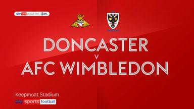 Doncaster 2-0 Wimbledon