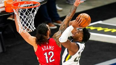 Mitchell shines in Jazz win over Pelicans