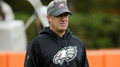 'Pederson firing comes down to Wentz'