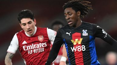 HT Arsenal 0-0 Crystal Palace