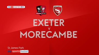 Exeter 0-2 Morecambe