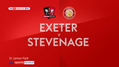 Exeter 3-1 Stevenage