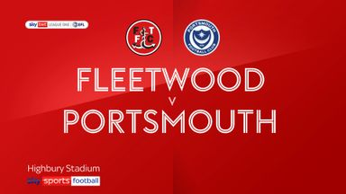Fleetwood 0-1 Portsmouth