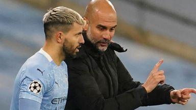 Pep praises 'unique' Aguero
