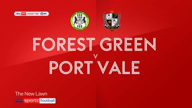 Forest Green 1-1 Port Vale