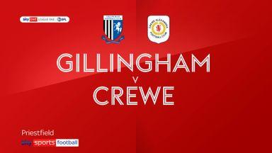 Gillingham 4-1 Crewe