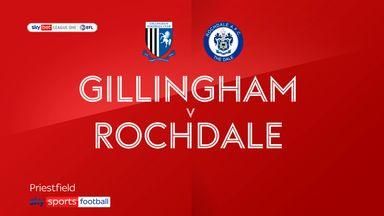 Gillingham 2-2 Rochdale