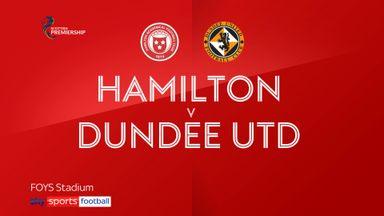 Hamilton 0-1 Dundee Utd