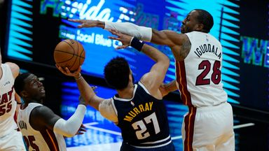 NBA Wk6: Nuggets 109-82 Heat