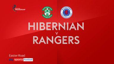 Hibernian 0-1 Rangers
