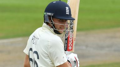 Root gets 50th Test fifty