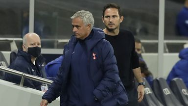 Jose: Sad for Lampard after Chelsea sacking