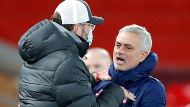 Jose: No problem with Klopp but we're not friends