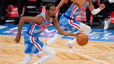 Durant's explosive slam dunk