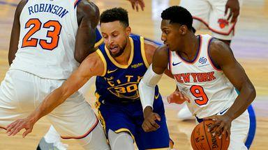 NBA Wk5: Knicks 119-104 Warriors