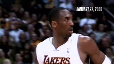 Flashback: Kobe drops 81 points on Raptors!