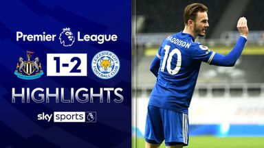 Leicester close gap at top with Toon win