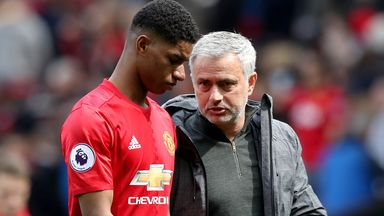 Jose responds to Rashford's 'savvy' comment