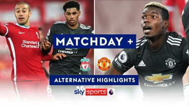 Liverpool 0-0 Man Utd | Matchday + | Alternative Highlights