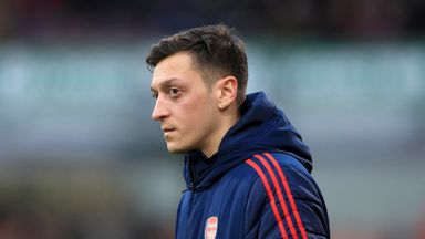 'Ozil gave hints on Arsenal future'