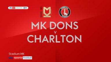 MK Dons 0-1 Charlton
