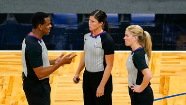 Female officials make NBA history