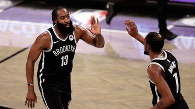 Harden, Durant key in Nets win