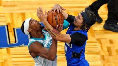 NBA Wk5 Hornets 107-104 Magic