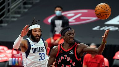 NBA Wk5: Mavericks 93-116 Raptors