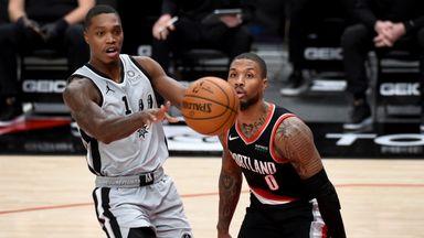 NBA Wk5: Spurs 125-104 Trail Blazers