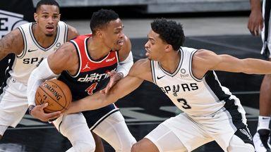 NBA Wk5: Wizards 101-121 Spurs