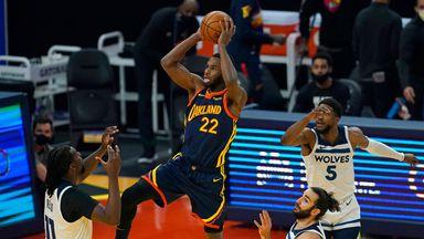 NBA Wk6: Timberwolves 108-130 Warriors
