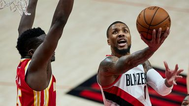 NBA Wk 4: Trail Blazers 112-106 Hawks