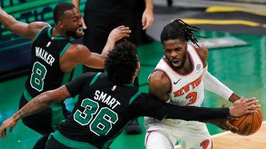 NBA Wk 4: Knicks 105-75 Celtics
