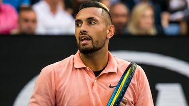 'Kyrgios can beat anybody'