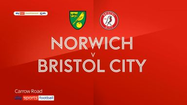 Norwich 2-0 Bristol City
