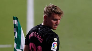 Arsenal face Odegaard fight