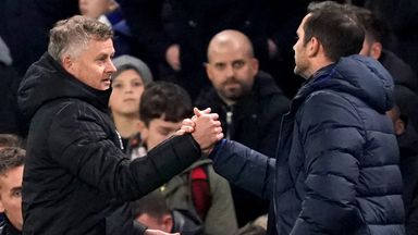 Solskjaer 'surprised' by Lampard sacking
