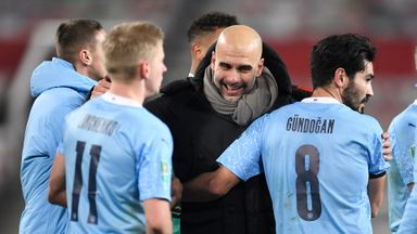 Pep: Hard to restrict players' celebrations